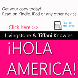 hola america, tiffani knowles, barnes and noble, amazon books, global business lending